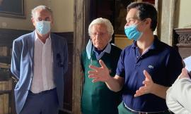 """Sisma, il commissario Legnini a Caldarola: """"La ricostruzione deve decollare"""""""