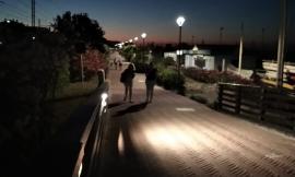 Porto Potenza, restyling del lungomare: nuove illuminazioni e progetto di videosorveglianza