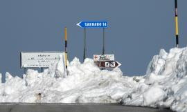 San Silvestro 'in bianco': lo spettacolo della neve nell'entroterra maceratese (FOTO)