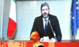 Unicam, parte un 'coraggioso' 685mo anno accademico: al battesimo presente Roberto Fico (VIDEO e FOTO)