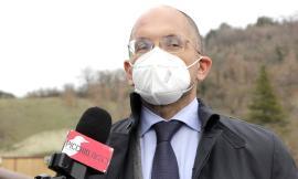 """Visso, sopralluogo dell'assessore Castelli: """"Una task force per la ricostruzione"""""""