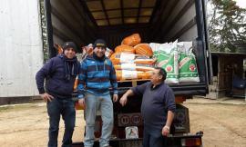 Aiuti dal Veneto arrivati a Visso e Bolognola grazie anche al Comune di Pollenza