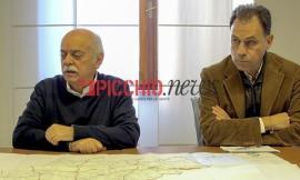 Una ferita del terremoto che si rimargina: riaperta la strada da Monte San Martino ad Amandola