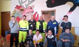 Solidarietà tra comuni, da Tolentino generi alimentari per la comunità Monti Azzurri