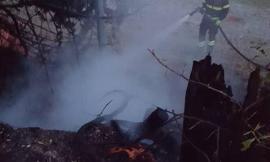 Spento dopo due giorni l'incendio a Serravalle. Distrutti otto ettari di bosco - VIDEO