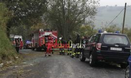 Tragedia a Loro Piceno, trattore si ribalta: muore il padre, ferito il figlio