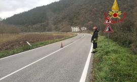 Fuga di gas a Pioraco: intervengono i Vigili del Fuoco per la messa in sicurezza della zona