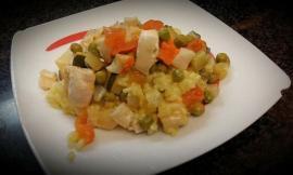 Le ricette di Marika: Paella con verdure e bocconcini di pollo