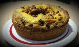 Le ricette di Marika: Pan Nociato con crema pasticcera