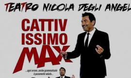 """Montelupone, Max Giusti avvia la stagione al """"Nicola degli Angeli"""""""