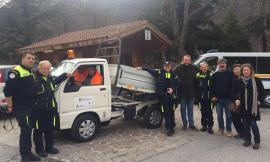 Bolognola, solidarietà: donato autocarro dal GOR di Paderno Dugnano