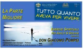 Azione Cattolica invita agli Esercizi Spirituali a Pollenza con don Giacomo Pompei
