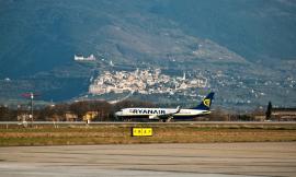Nei primi due mesi del 2018 traffico passeggeri in crescita del 10% per l'Aeroporto dell'Umbria