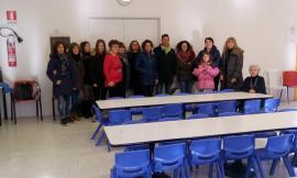 """Gagliole, sedie nuove per la mensa scolastica grazie a 108 - Una scuola per la vita"""""""