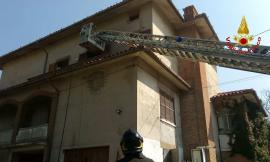 Appignano: incendio in via Verdefiore