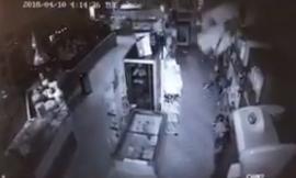 La scossa ripresa dalle telecamere del Panificio Fronzi (VIDEO)