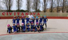 Buoni risultati per la Roller Civitanova al Campionato Regionale di Pattinaggio Corsa