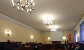 Civitanova, visita dei bambini della scuola Anita Garibaldi a Palazzo Sforza