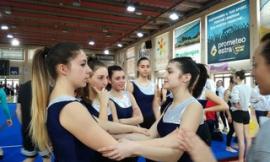 Le studentesse dell'Ipseoa Varnelli al Gymfestival