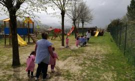 Belforte del Chienti, nuovi giochi per la scuola per l'infanzia