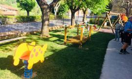 Camporotondo, per il patrono San Marco inaugurati giardini e giochi per i bambini