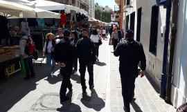 Sicurezza a Civitanova, ancora controlli al mercato e alla stazione - FOTO