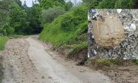 Anomale sfere di fango dopo l'alluvione a Caldarola: è un fenomeno chiamato armoured mud balls