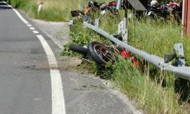 Grave incidente tra Monte Cavallo e Visso: due centauri a Torrette - FOTO