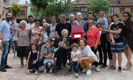 Elisa Giugnetti compie 100 anni: l'omaggio del Sindaco Montemarani