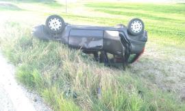 Urbisaglia, frontale tra auto: feriti mamma e i due figli