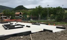 Pieve Torina, completate le opere di fondazione della nuova scuola materna