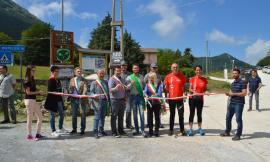 Pian d'Elmo, inaugurato il nordic walking park di Monte San Vicino e Monte Canfaito