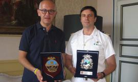 Civitanova, il comandante De Tommasi a Palazzo Sforza per il saluto al sindaco Ciarapica