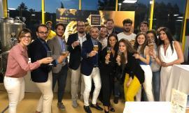 I giovani imprenditori di Confindustria Macerata visitano le aziende umbre Fabiana Filippi e Mastri Birrai Umbri