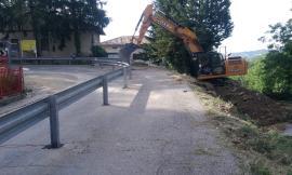 """Provinciale Sarnano-Gualdo, via ai lavori per allargare la curva a """"rischio"""""""