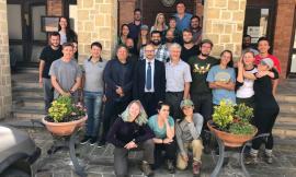 """Camporotondo, il rettore Unicam incontra studenti e docenti americani del """"Geology Field Camp"""""""