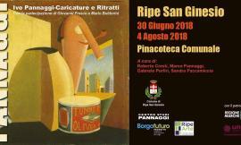 Ripe San Ginesio, in mostra le opere di Ivo Pannaggi