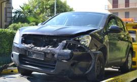 Incidente a Monte San Giusto, quattro feriti e due auto distrutte (Foto)