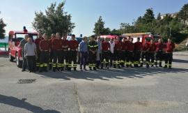 Dieci per i Vigili del Fuoco di Apiro! (Foto)
