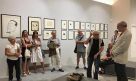 """Ripe San Ginesio: aperta fino al 4 agosto la mostra """"Ivo Pannaggi – Caricature e Ritratti"""""""