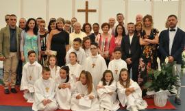 Pieve Torina, celebrate le Prime Comunioni dopo il terremoto