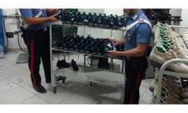 Montecosaro, nel bagagliaio scarpe rubate per 30mila euro: denunciati