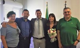 Matrimonio a Pieve Torina, il sindaco Gentilucci sposa Renzo e Pina