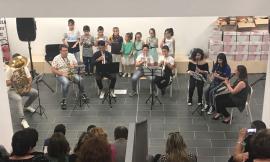 Saggio di fine anno per i ragazzi dell'orientamento musicale di Pieve Torina