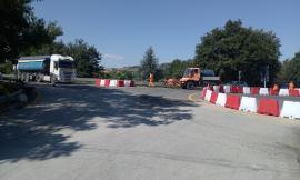 Montecosaro Scalo, attiva la rotatoria allo svincolo della superstrada