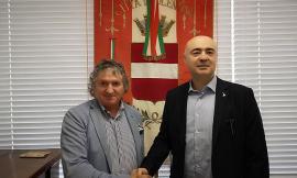 Tolentino, il senatore Pazzaglini incontra il sindaco Pezzanesi: massimo impegno per il post terremoto