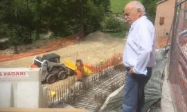 Procede secondo programma l'ampliamento della curva Vecciola sulla Sarnano - Gualdo