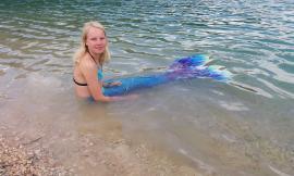 Avvistata una sirena al Lago di Fiastra: il mitologico viaggio di Giorgio e di sua figlia Anastasia