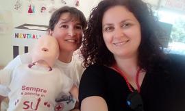 Civitanova, con la Croce Rossa s'imparano le manovre di disostruzione pediatrica