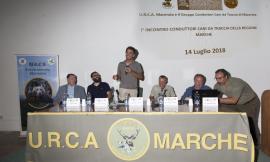 Cani da traccia: i conduttori della Regione Marche si ritrovano all'Abbadia di Fiastra